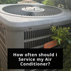 How often should I Service my HVAC Unit?